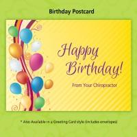 "Birthday Postcard - ""Party"""