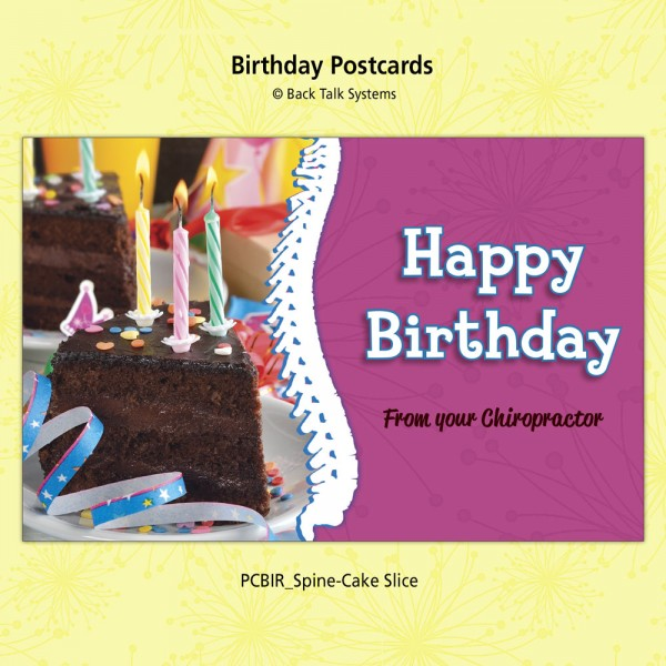 "Birthday Postcard - ""Spine Combo"""