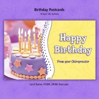 """Birthday Postcard - """"Spine/Starcake"""""""
