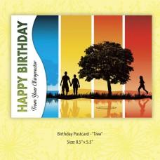 "Birthday Postcard - ""Tree"""