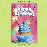 "Birthday Postcard - ""Cupcake"""
