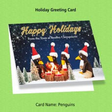 "Greeting Card - ""Penguins"""