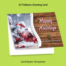 "Greeting Card - ""Ornament"""
