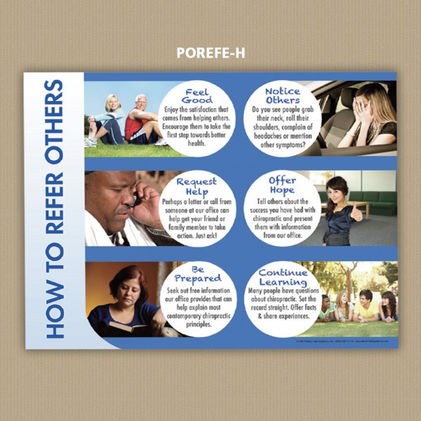 Poster - How to Refer Others