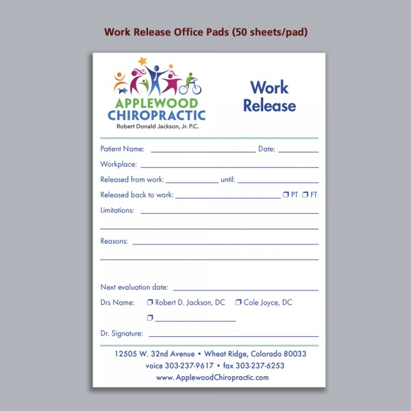 Office Pad - Work Release