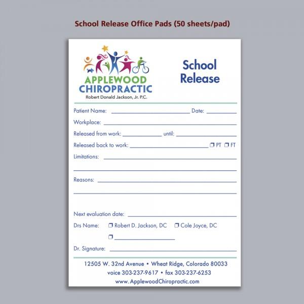 Office Pad - School Release