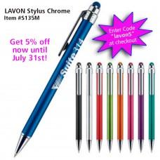 Lavon Stylus Chrome Pen