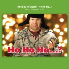 Postcard - Ho Ho Ho...?