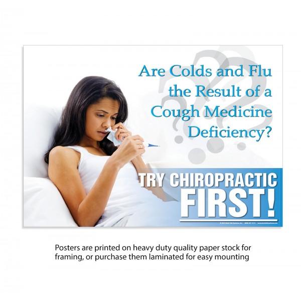 TCF Poster - Colds & Flu