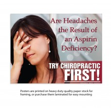 TCF Poster - Headache Poster (Female)