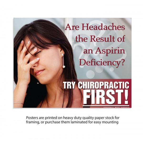 TCF Poster - Headache Poster (Female)