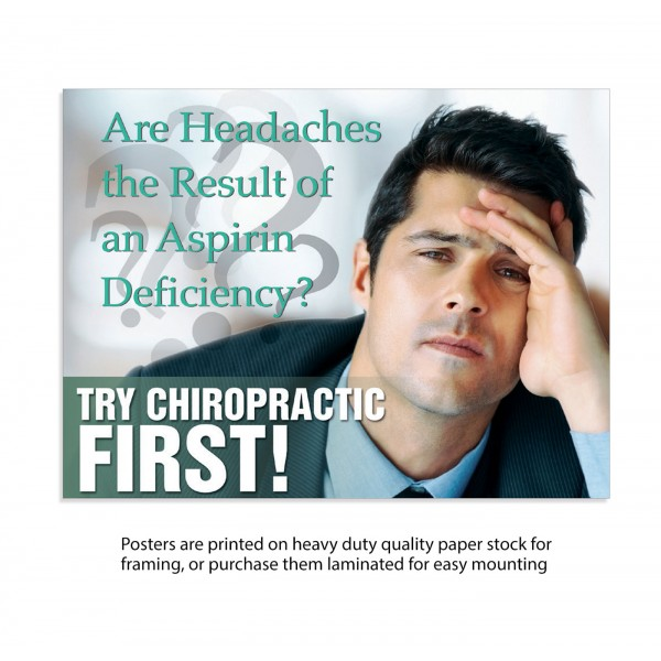 TCF Poster - Headache Poster (Male)