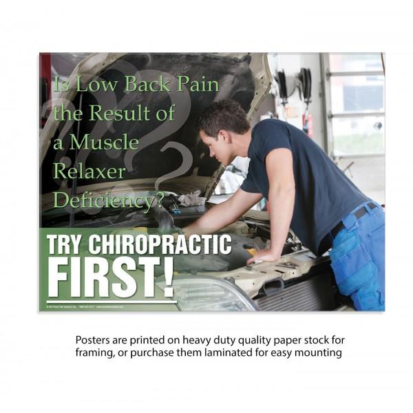 TCF Poster - Low Back Pain (Mechanic)